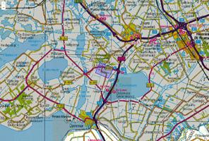 Verzendingsgebied NL-Alert tijdens einde noodmelding NL-Alert op 29 november tijdens brand Sint Nicolaasga