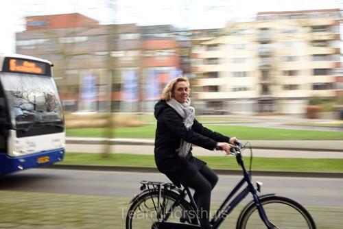 Op de foto Anneke Meijer