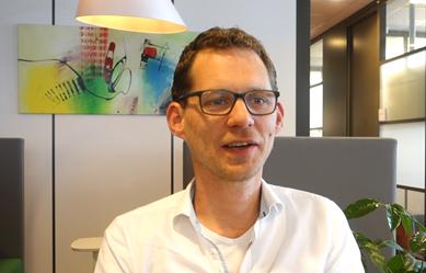 Still uit video met Johan Haasjes