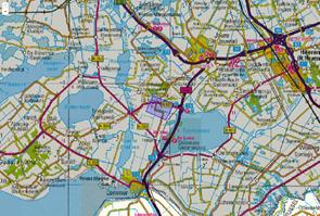 Verzendingsgebied NL-Alert tijdens noodmelding NL-Alert op 29 november tijdens brand Sint Nicolaasga