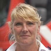 Portret Ingrid Weert vierkant - fotograaf Kees van der Mark