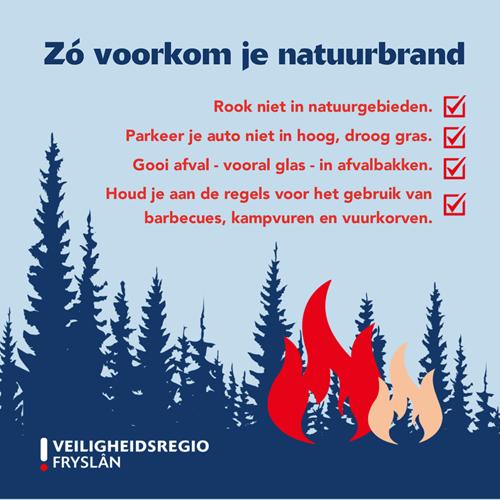 Zo voorkom je natuurbrand